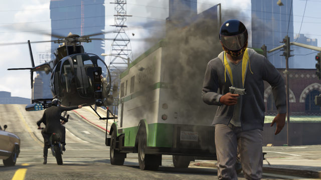 Rockstar detailně představil GTA Online 88190