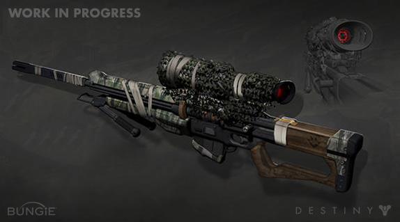 Artworky zbraní z Destiny 88195