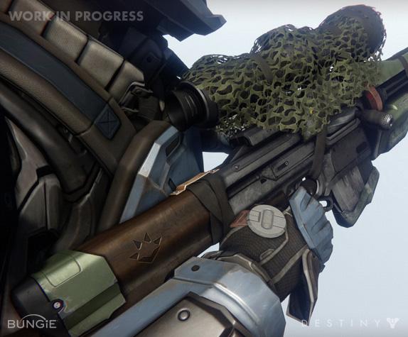 Artworky zbraní z Destiny 88197