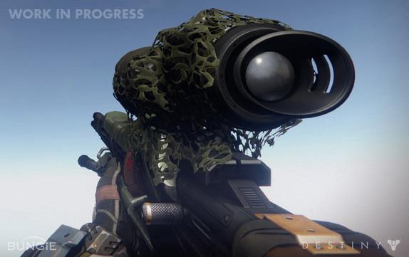 Artworky zbraní z Destiny 88198