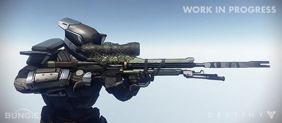 Artworky zbraní z Destiny 88199