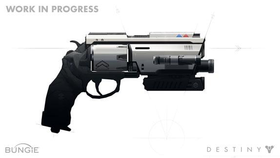 Artworky zbraní z Destiny 88200