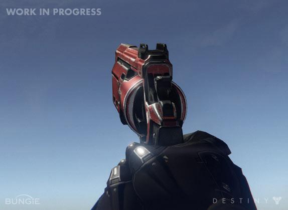 Artworky zbraní z Destiny 88202