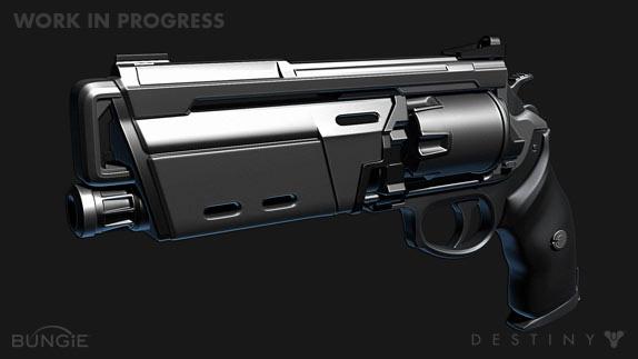 Artworky zbraní z Destiny 88203