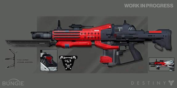 Artworky zbraní z Destiny 88208