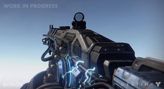 Artworky zbraní z Destiny 88213