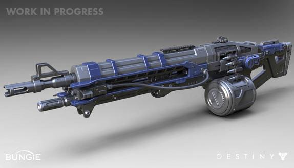 Artworky zbraní z Destiny 88214