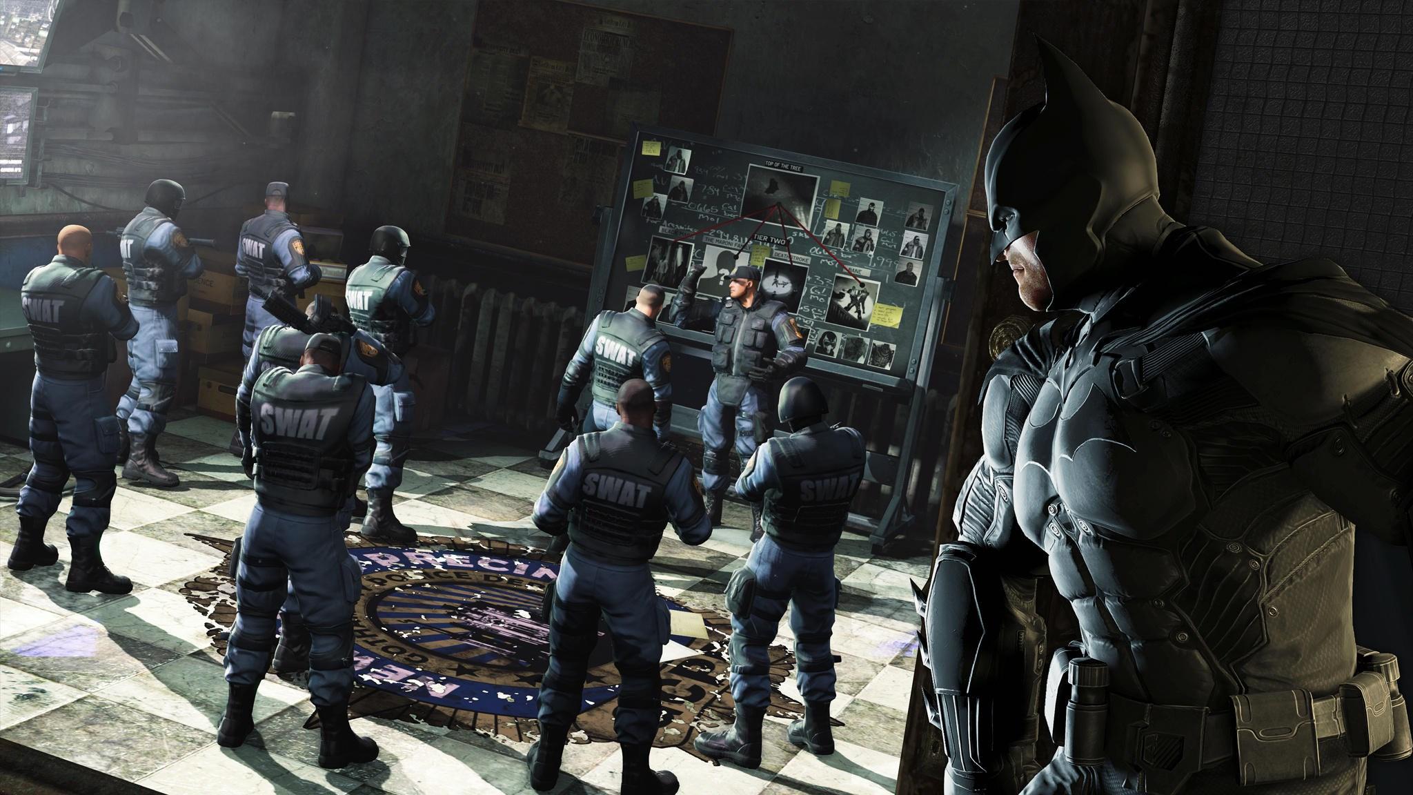 Barbara Gordonová na obrázcích z Batman: Arkham Origins 88391