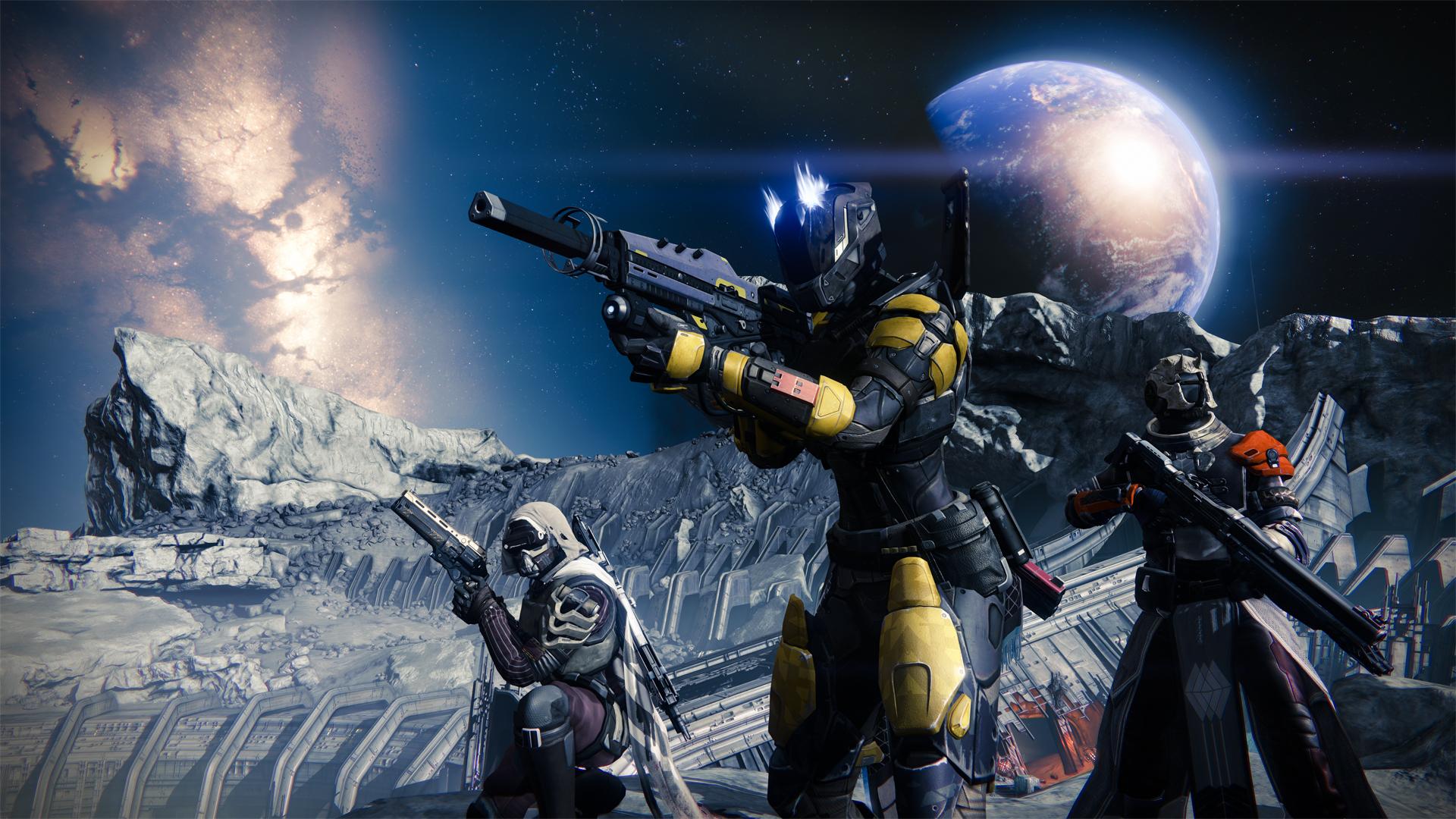 Boj na Měsíci v podání Destiny 88417