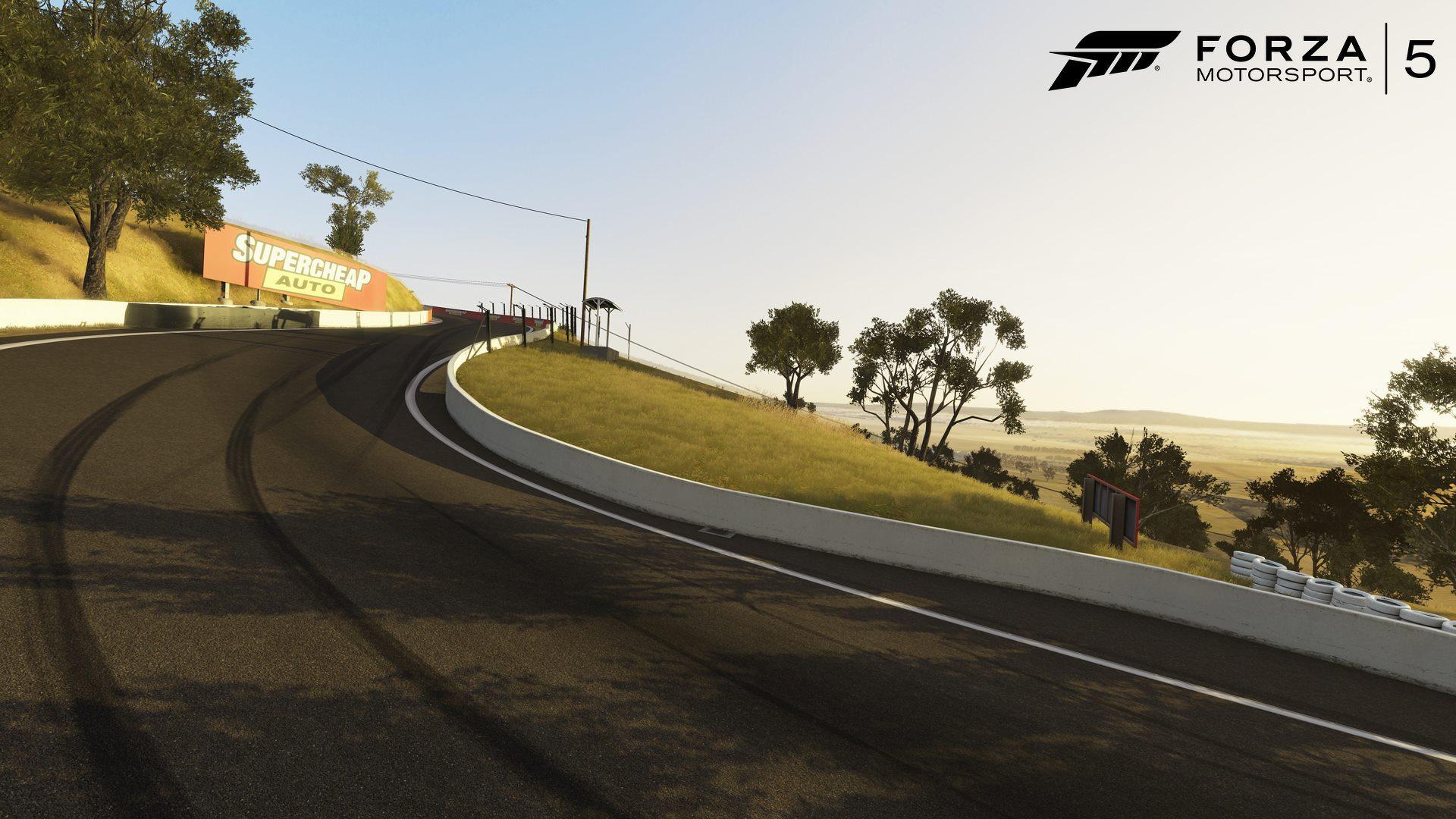 I Forza 5 odhalila svou verzi australského okruhu 88478
