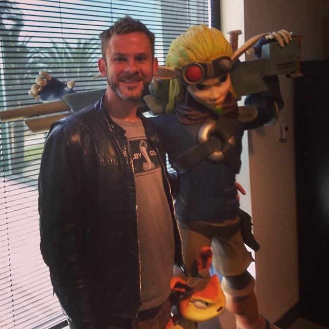 Dominic Monaghan navštívil studio Naughty Dog 88479