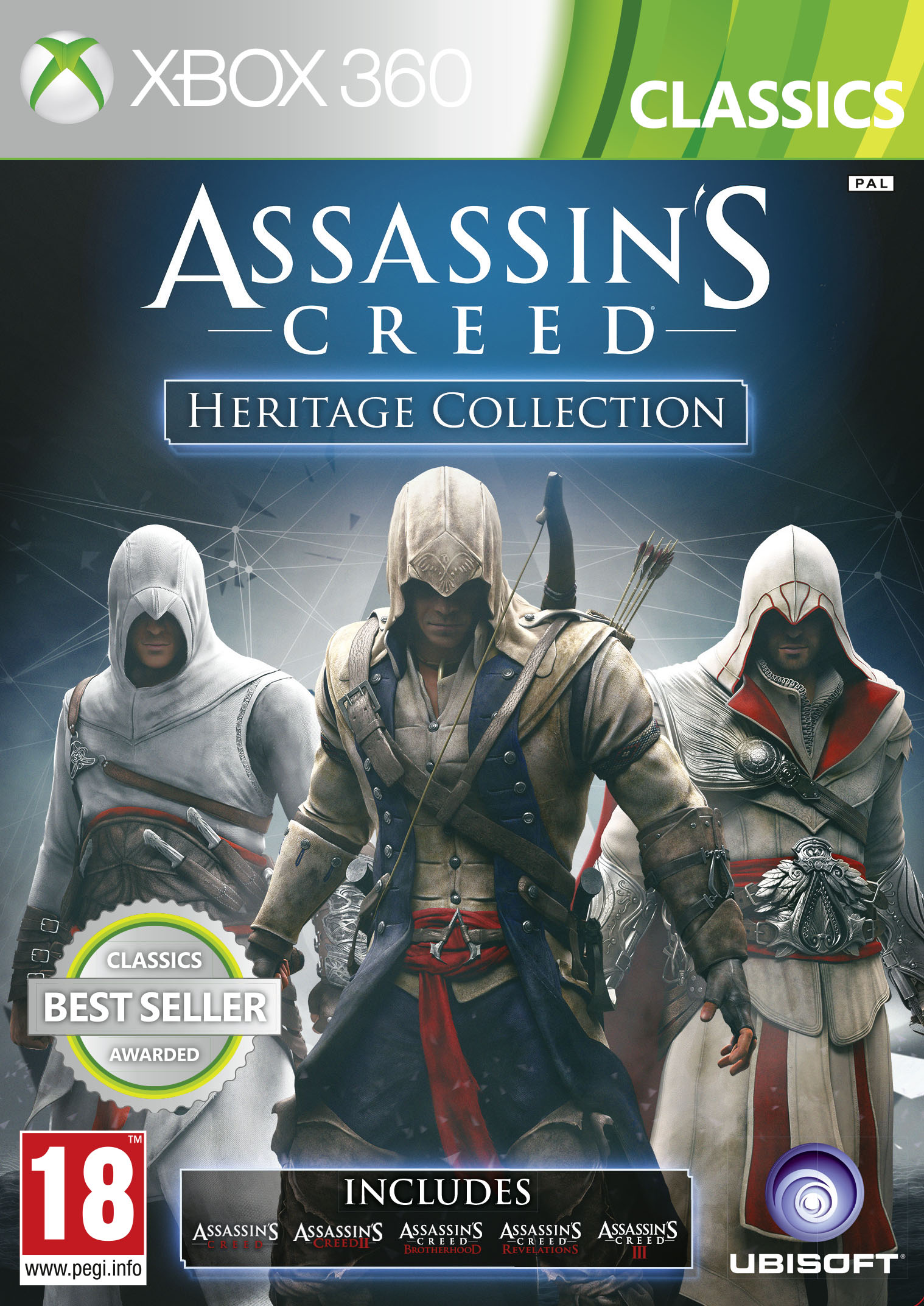 Oznámena Heritage edice Assassin's Creed 88490