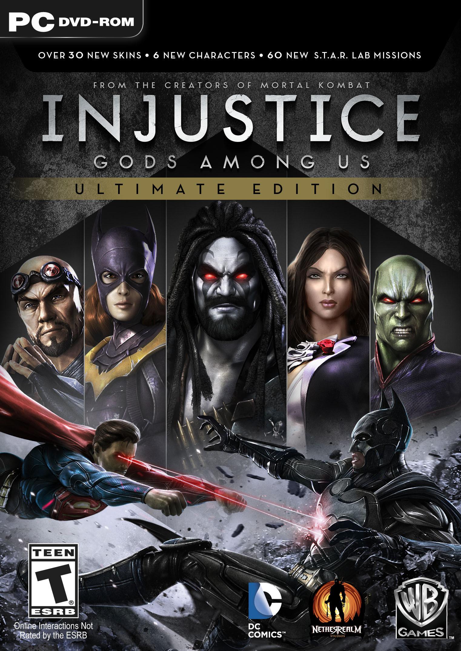 Bojovka Injustice: Gods Among Us oznámena pro PC, PS4 a Vita 88624