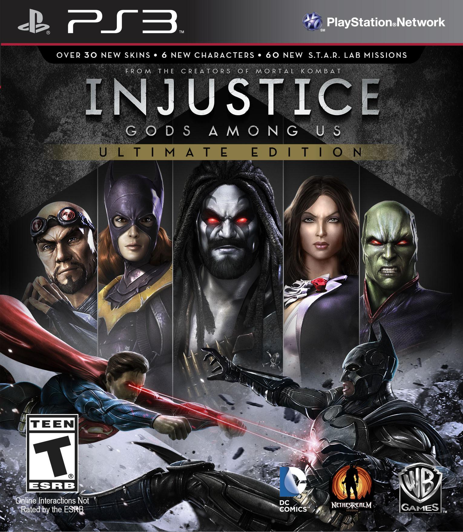 Bojovka Injustice: Gods Among Us oznámena pro PC, PS4 a Vita 88625
