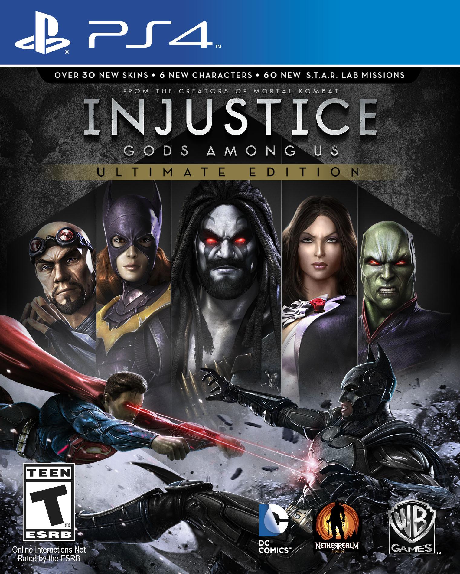 Bojovka Injustice: Gods Among Us oznámena pro PC, PS4 a Vita 88626
