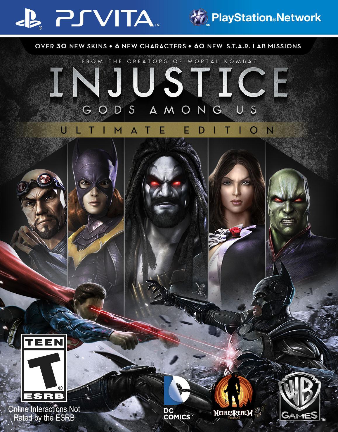Bojovka Injustice: Gods Among Us oznámena pro PC, PS4 a Vita 88627