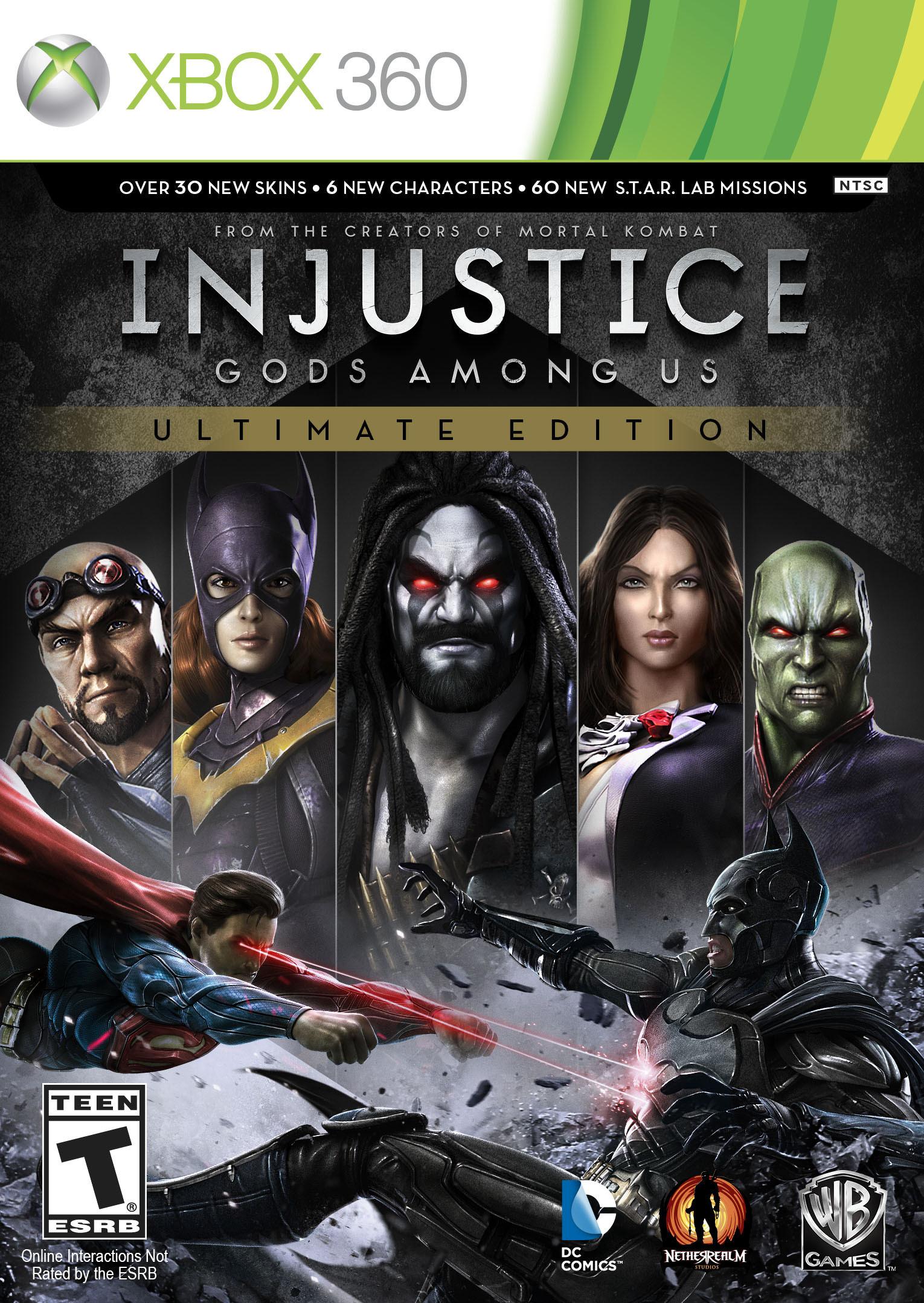 Bojovka Injustice: Gods Among Us oznámena pro PC, PS4 a Vita 88628