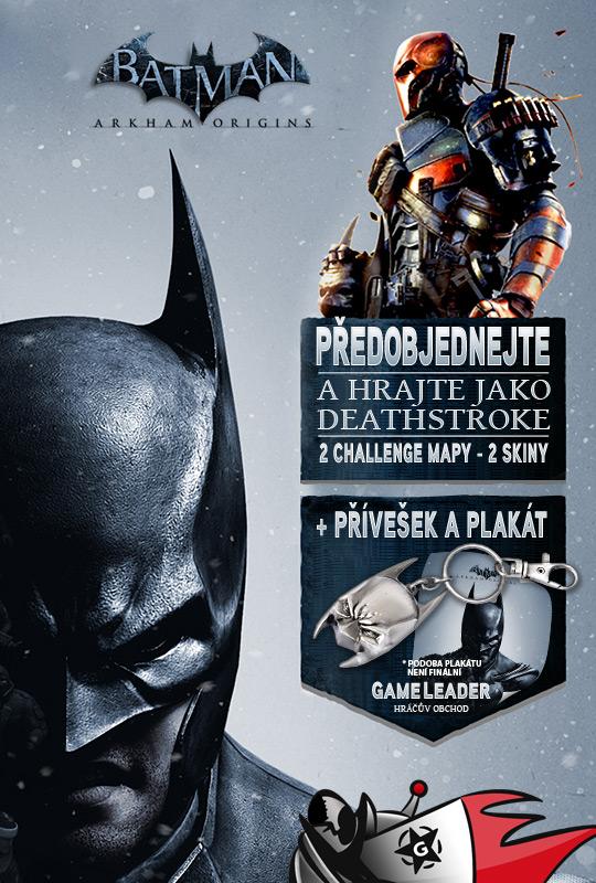 Dárky k předobjednávkám Batman: Arkham Origins 88686