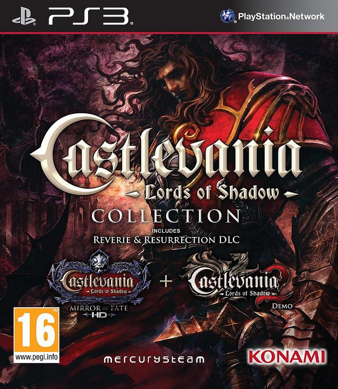Castlevania: Lords of Shadow Collection vyjde 8. listopadu 88688