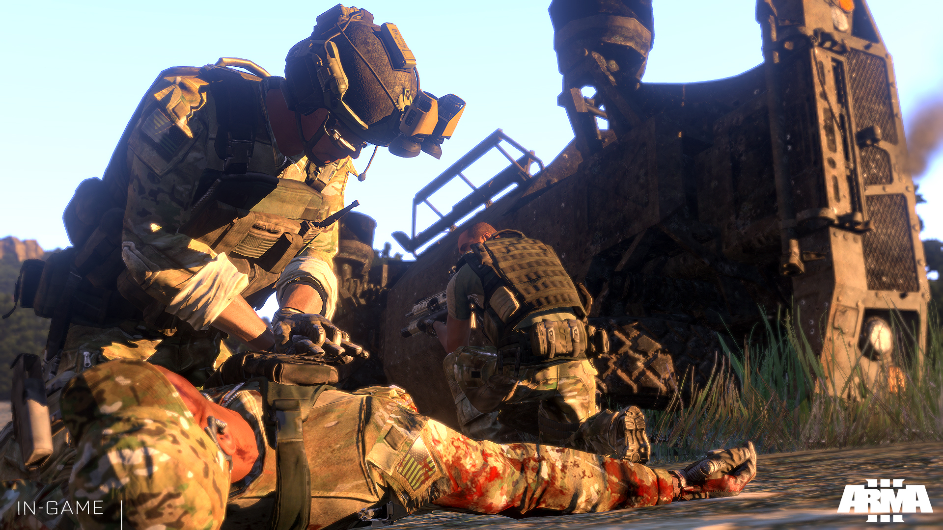 První část kampaně Army 3 vyjde 31. října 88740
