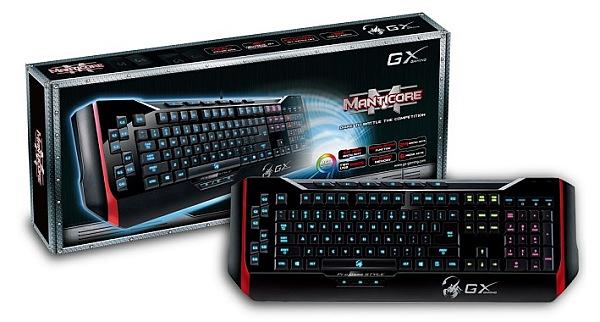GX Gaming představuje novou herní klávesnici Manticore 88748