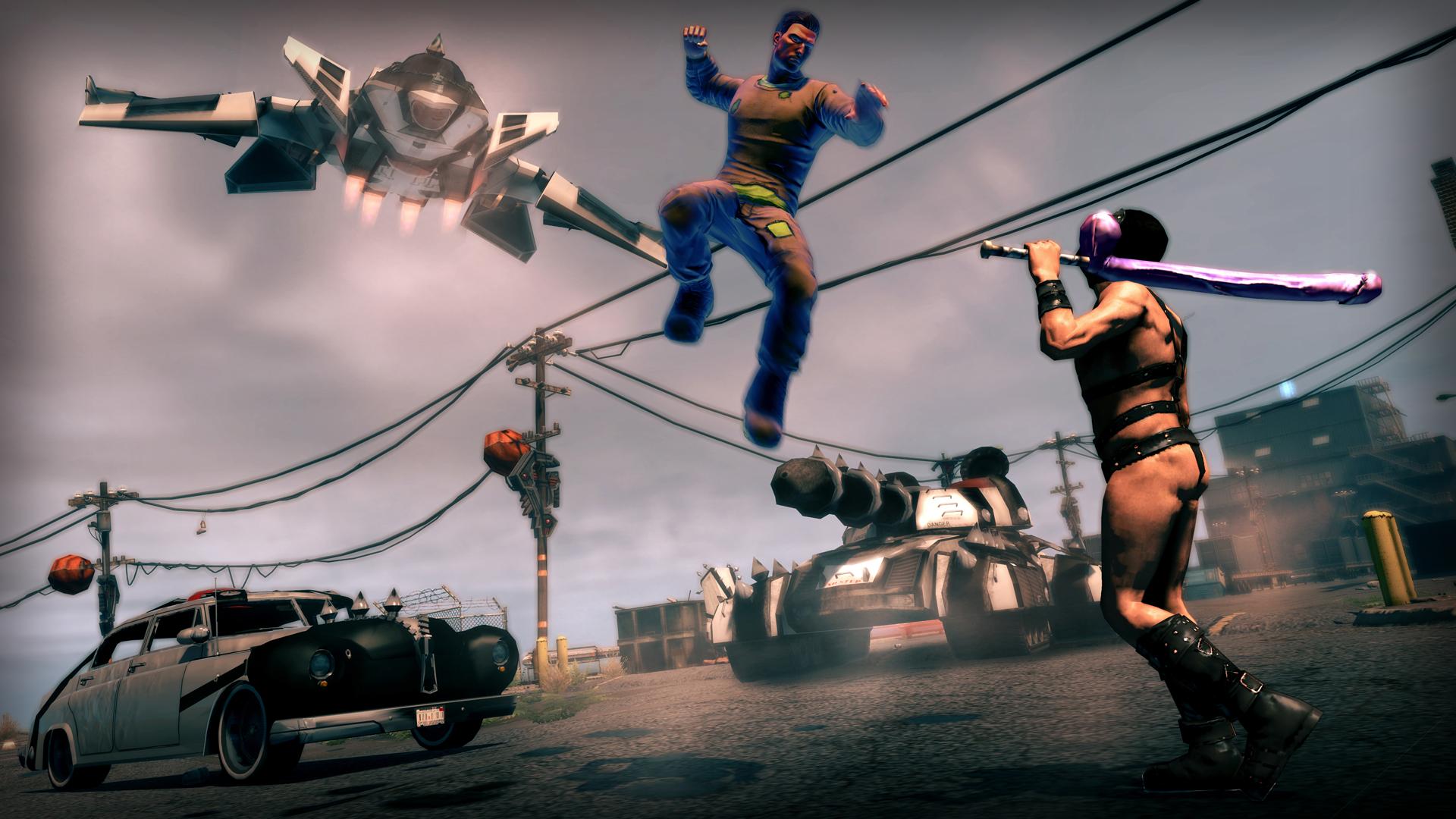 Obrázky z Enter the Dominatrix DLC k Saints Row 4 88774