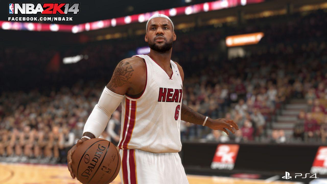 První screenshot z PS4 verze NBA 2K14 88781
