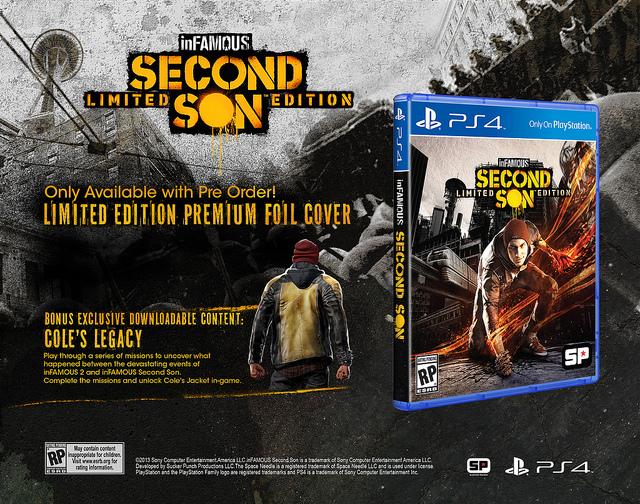 Odhalena sběratelská a speciální edice inFamous: Second Son 88897