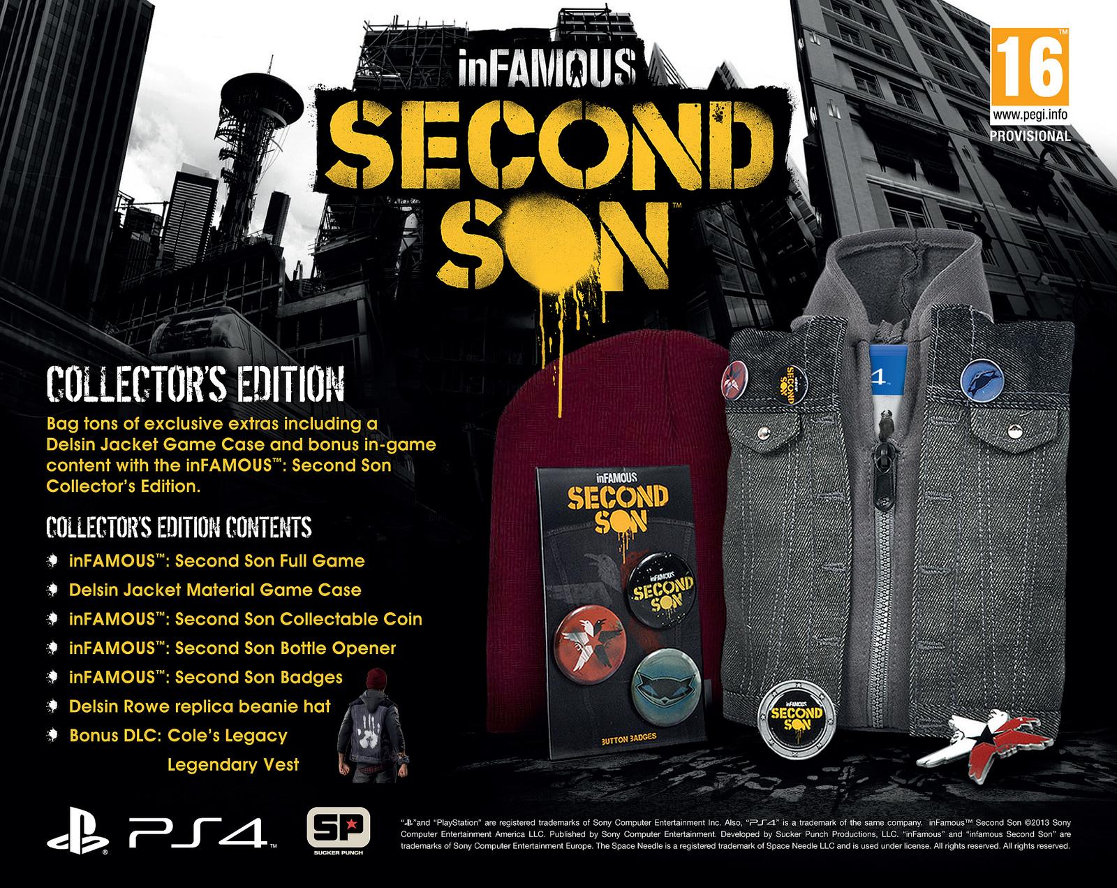 Odhalena sběratelská a speciální edice inFamous: Second Son 88900