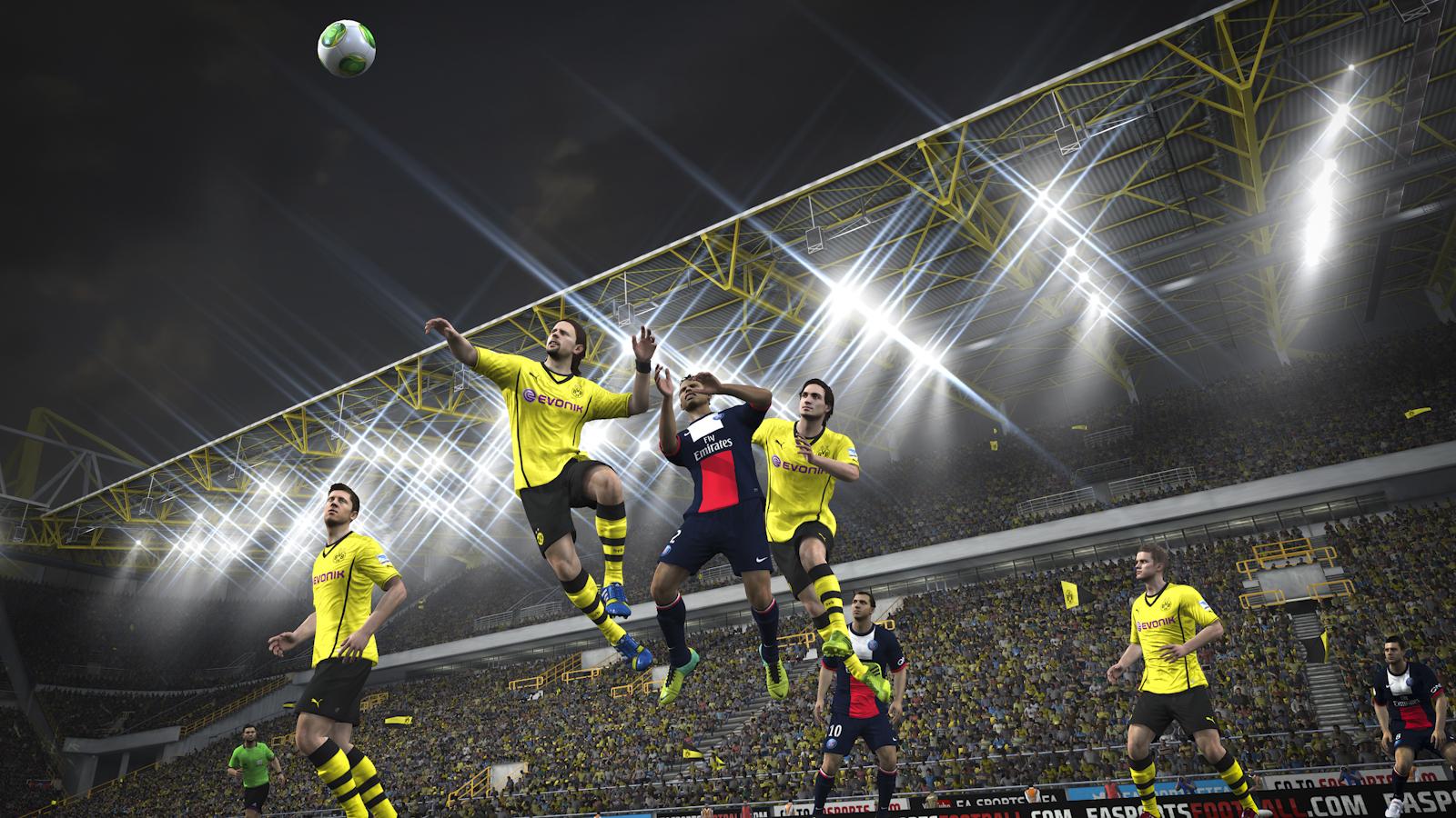 Obrázky z next-gen verze FIFA 14 ukazují FUT Legends a vymazlenější grafiku 89196