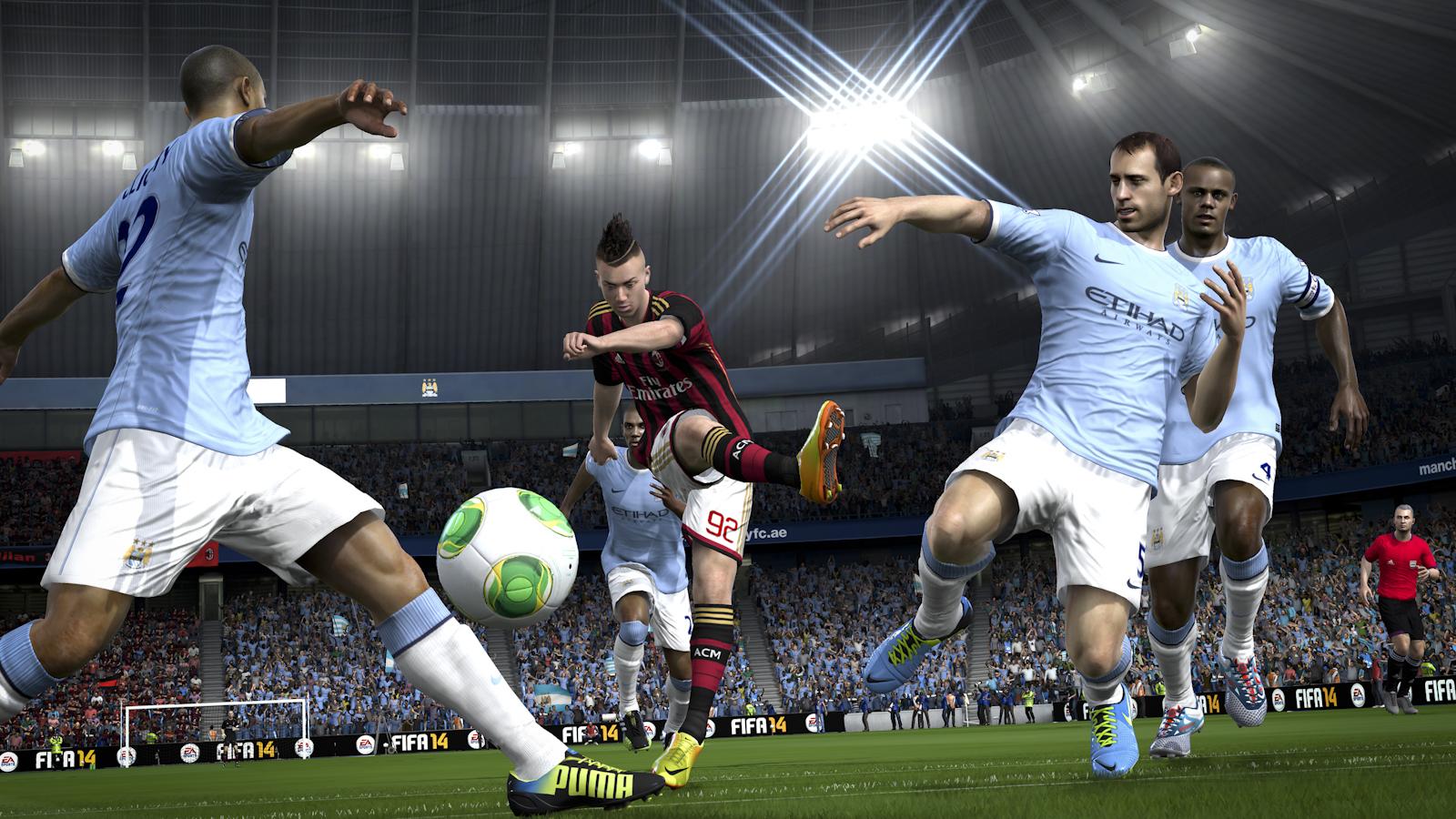 Obrázky z next-gen verze FIFA 14 ukazují FUT Legends a vymazlenější grafiku 89197
