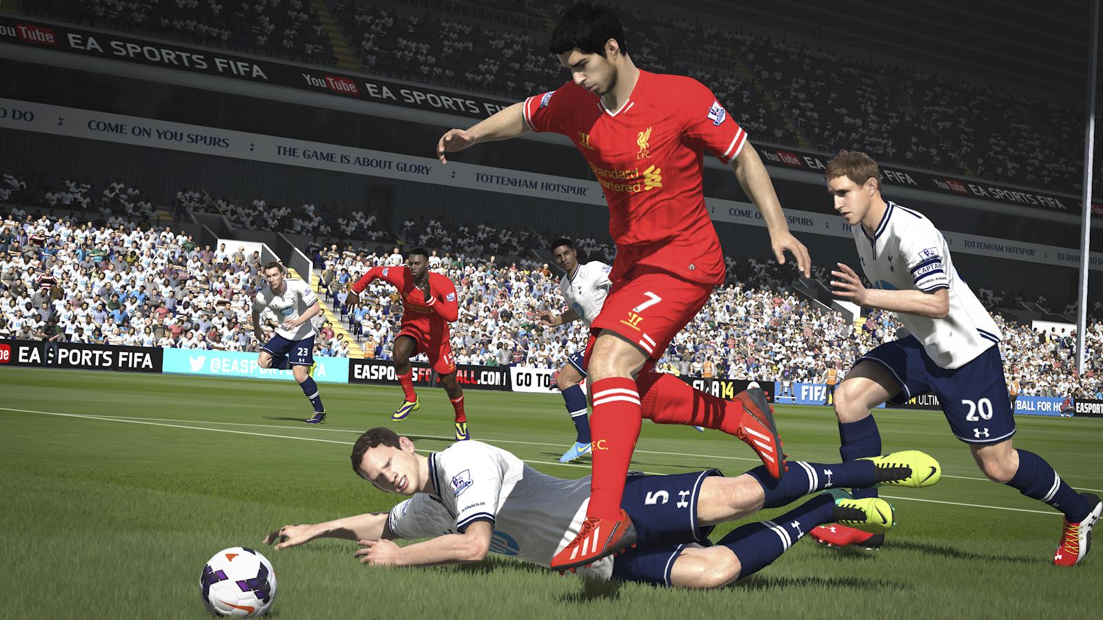 Obrázky z next-gen verze FIFA 14 ukazují FUT Legends a vymazlenější grafiku 89198