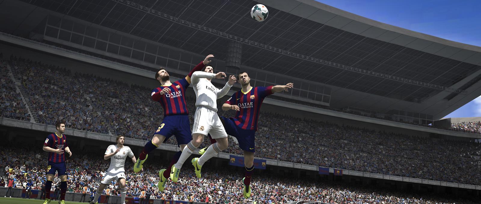 Obrázky z next-gen verze FIFA 14 ukazují FUT Legends a vymazlenější grafiku 89200