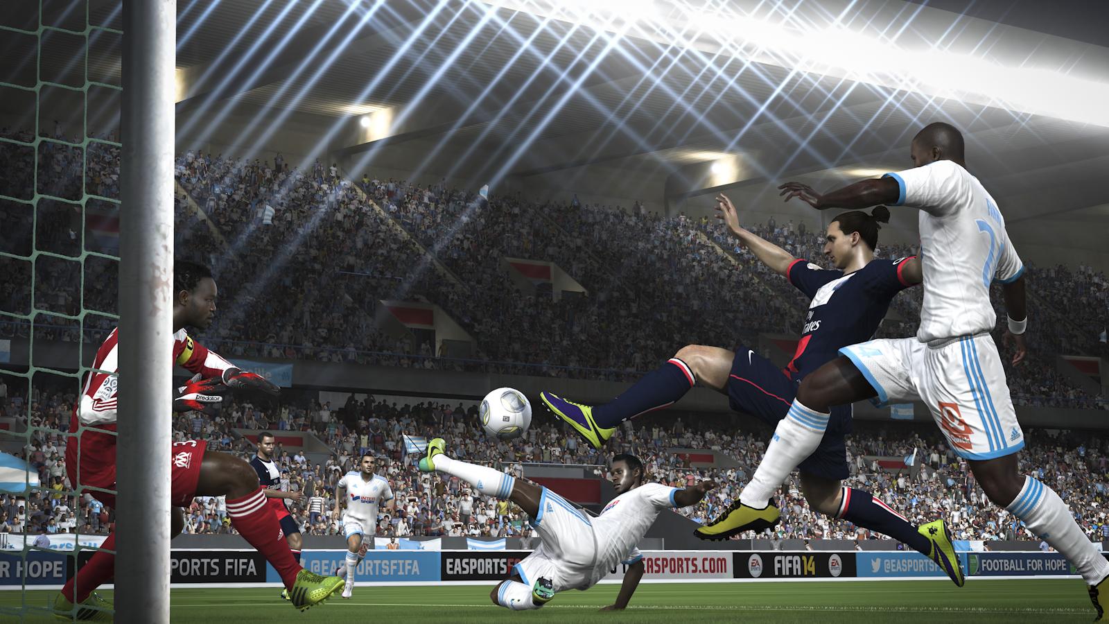 Obrázky z next-gen verze FIFA 14 ukazují FUT Legends a vymazlenější grafiku 89202