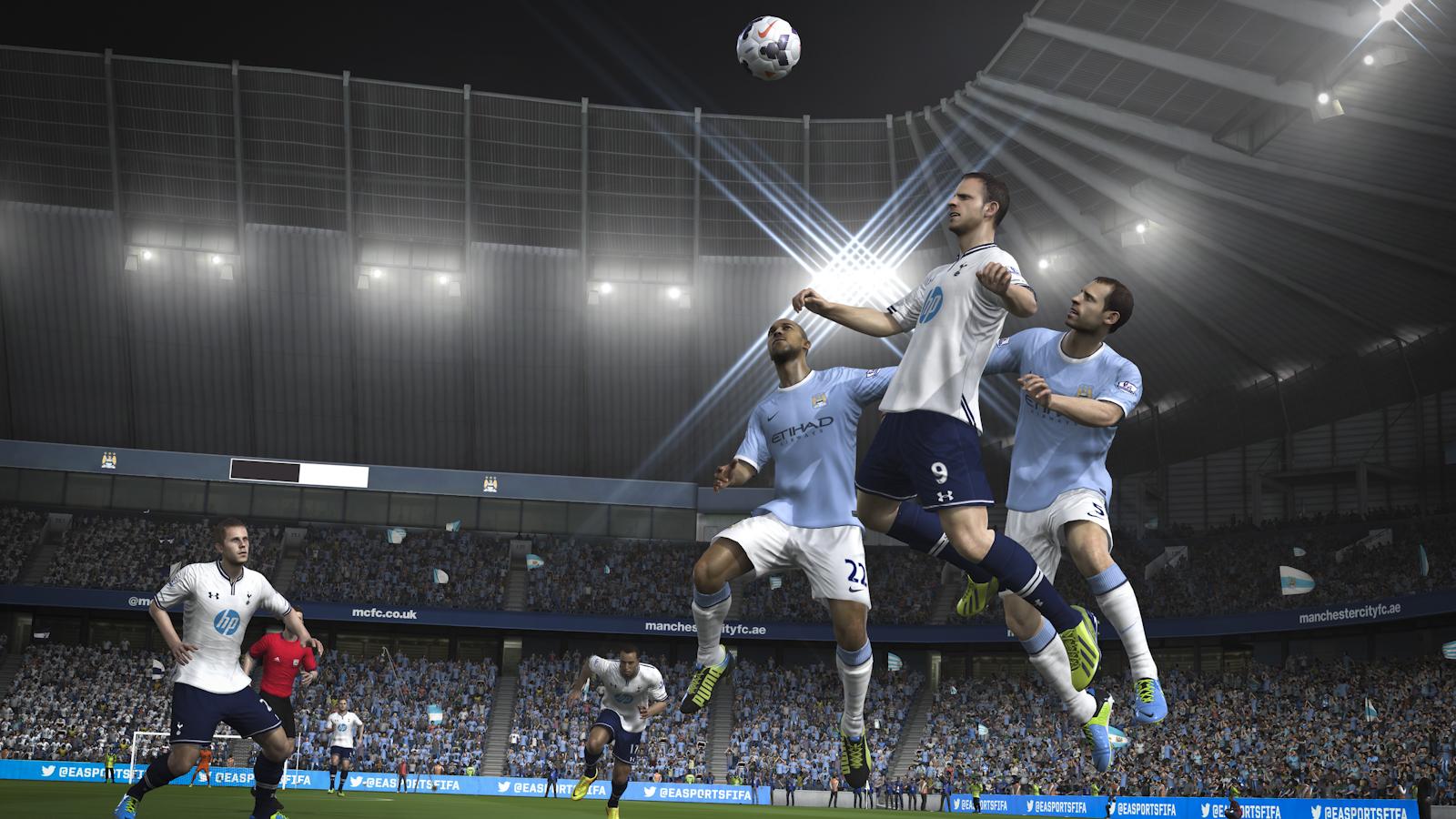 Obrázky z next-gen verze FIFA 14 ukazují FUT Legends a vymazlenější grafiku 89203