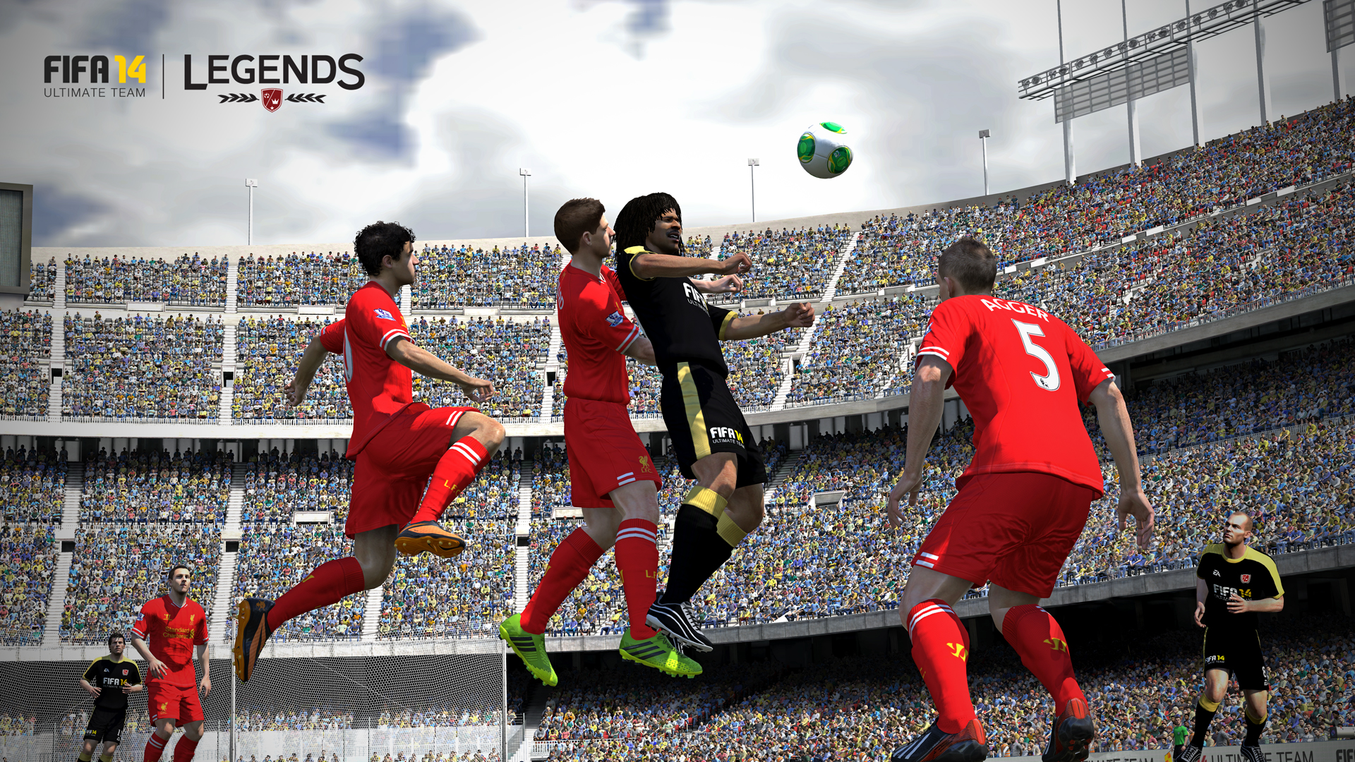 Obrázky z next-gen verze FIFA 14 ukazují FUT Legends a vymazlenější grafiku 89207