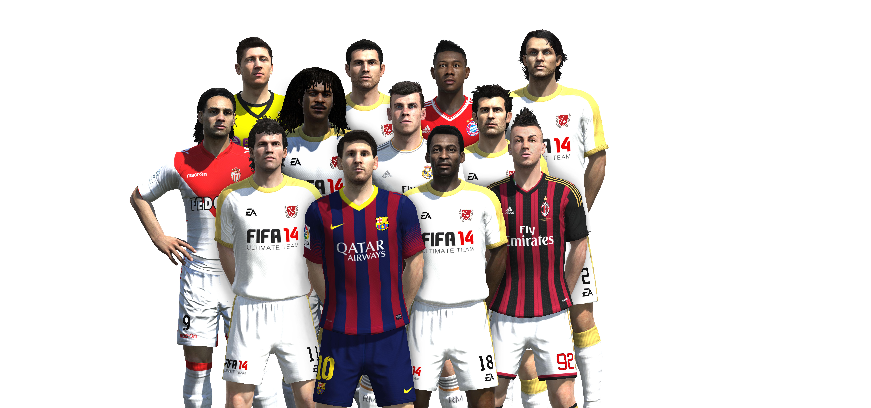 Obrázky z next-gen verze FIFA 14 ukazují FUT Legends a vymazlenější grafiku 89211