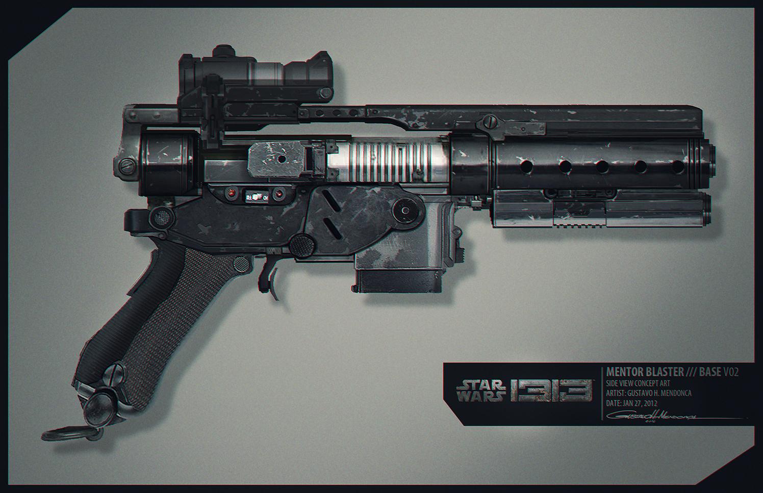 Artworky ze zrušeného Star Wars 1313 89327