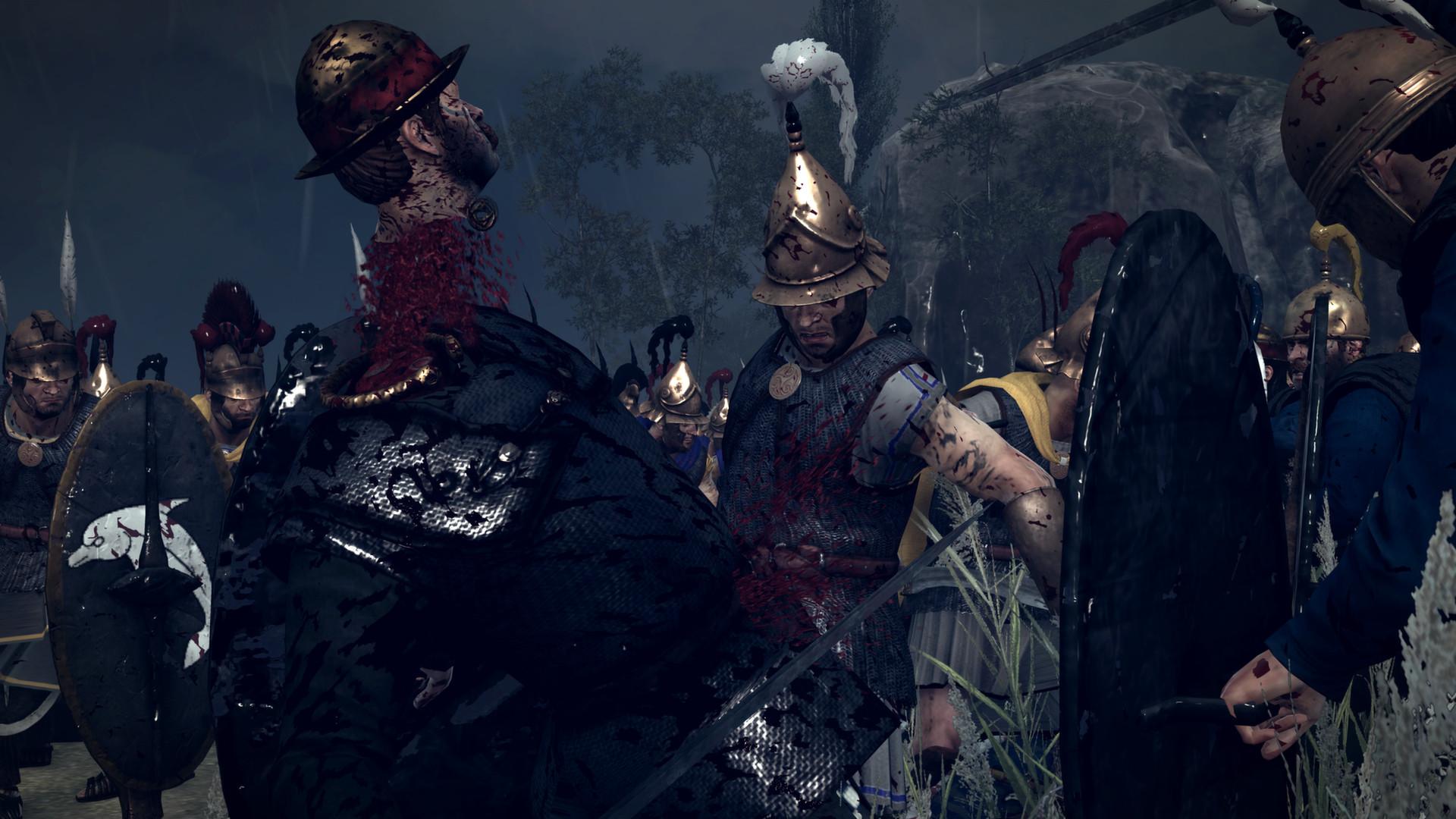 Krev, useknuté hlavy a končetiny v Total War: Rome 2 díky novému DLC 89483