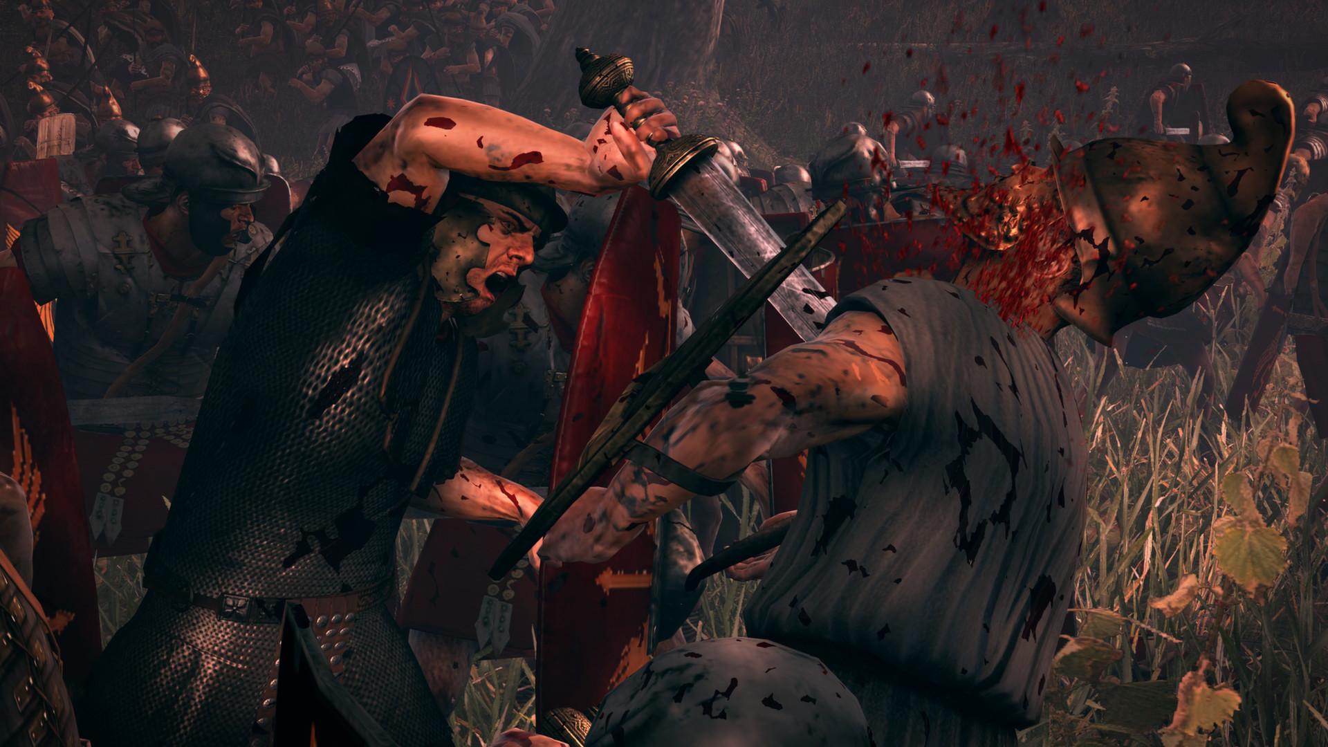 Krev, useknuté hlavy a končetiny v Total War: Rome 2 díky novému DLC 89484