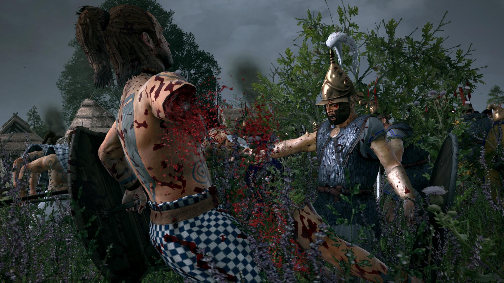 Krev, useknuté hlavy a končetiny v Total War: Rome 2 díky novému DLC 89486