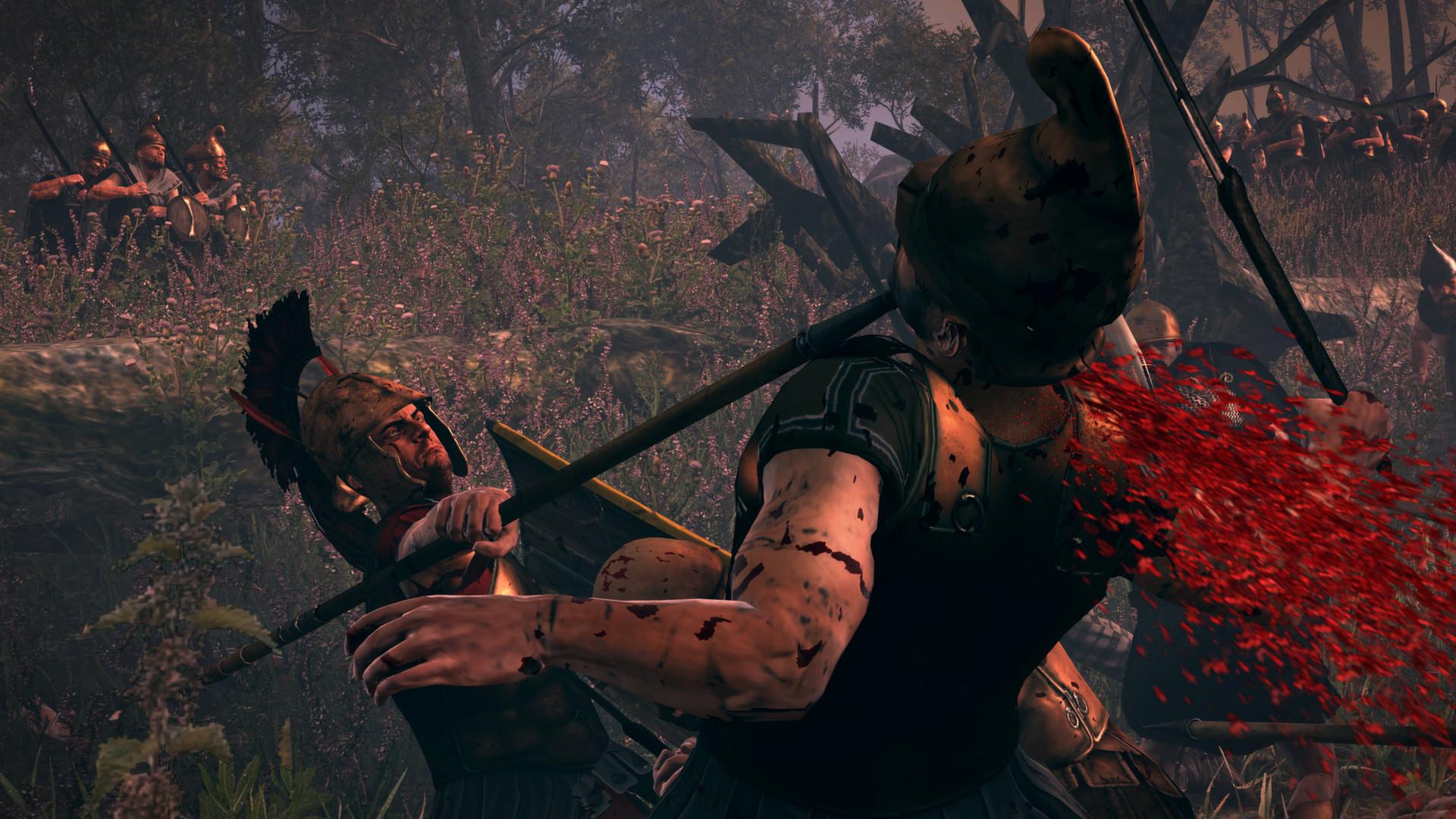 Krev, useknuté hlavy a končetiny v Total War: Rome 2 díky novému DLC 89487