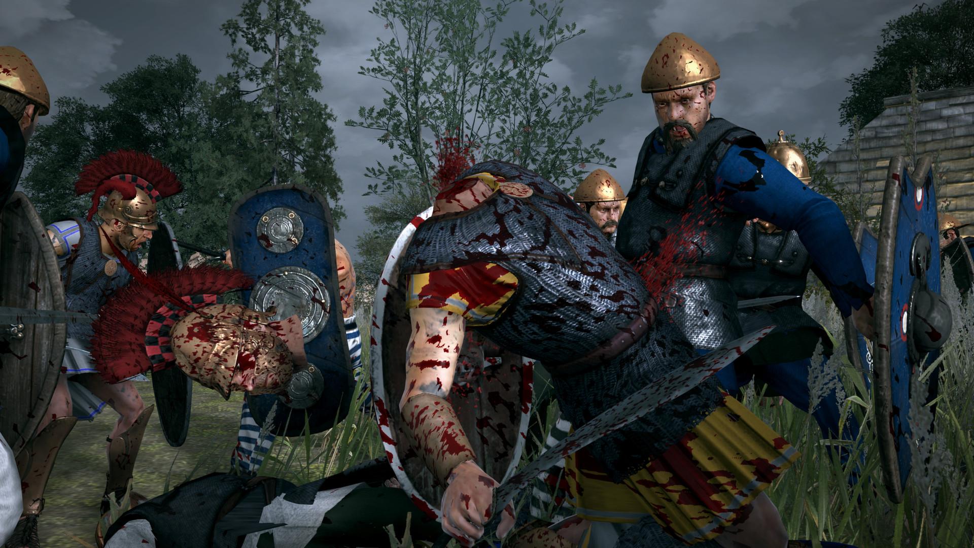 Krev, useknuté hlavy a končetiny v Total War: Rome 2 díky novému DLC 89488