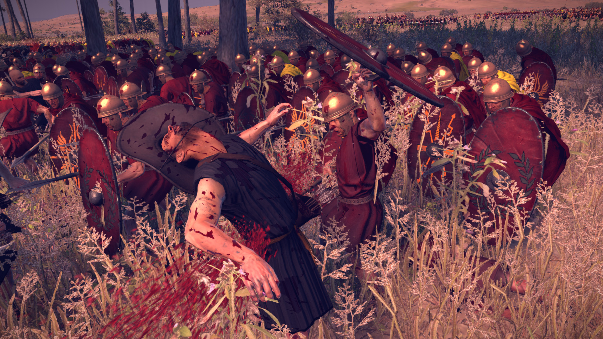 Krev, useknuté hlavy a končetiny v Total War: Rome 2 díky novému DLC 89489