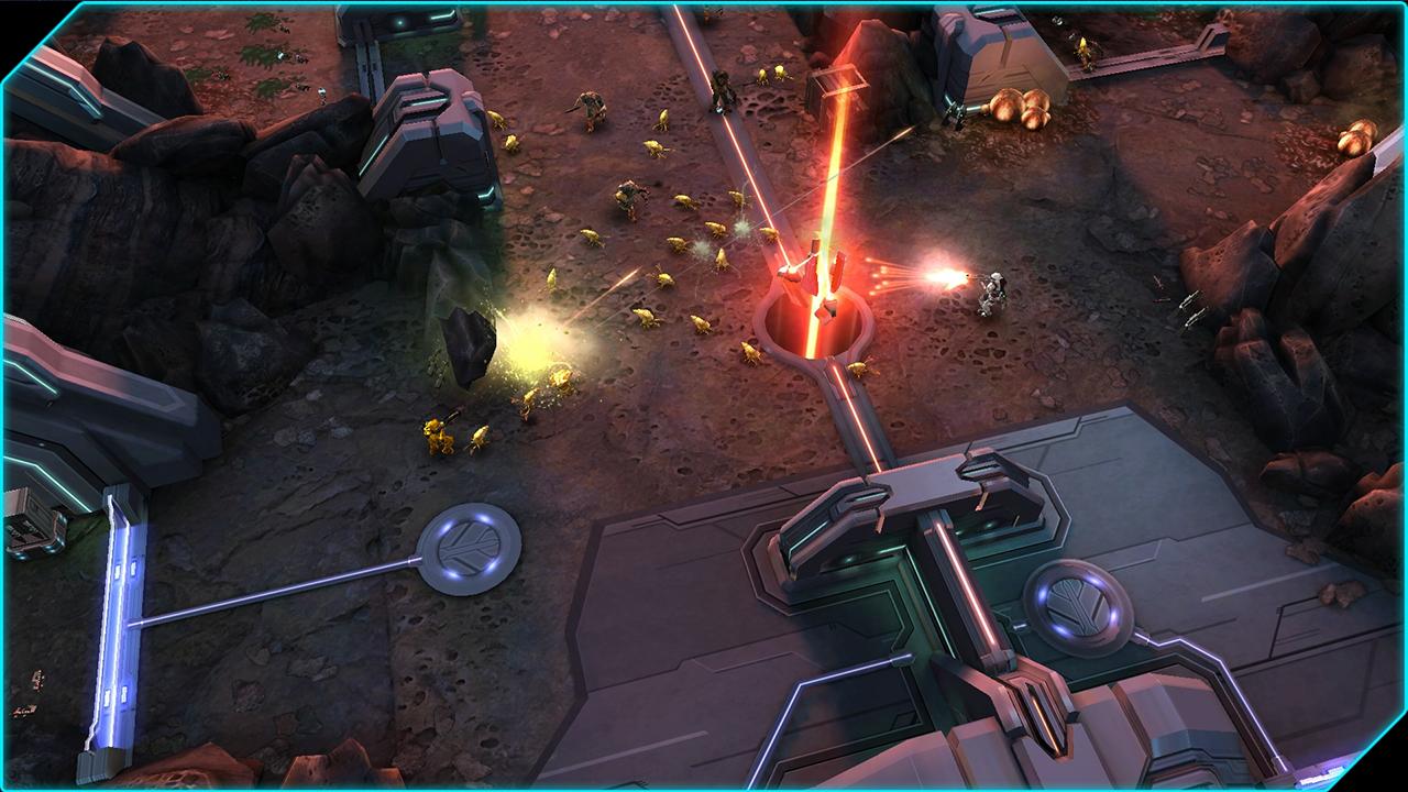 Obrázky z Xbox verze Halo: Spartan Assault 89526