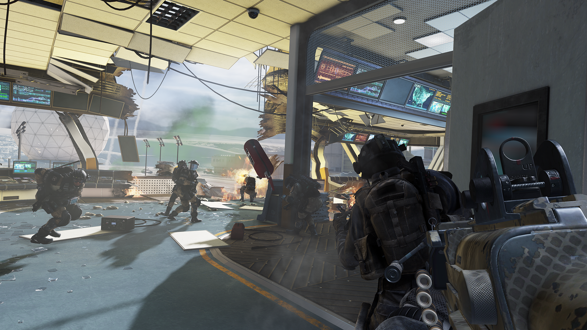 Nvidia vylepší Call of Duty: Ghosts 89609