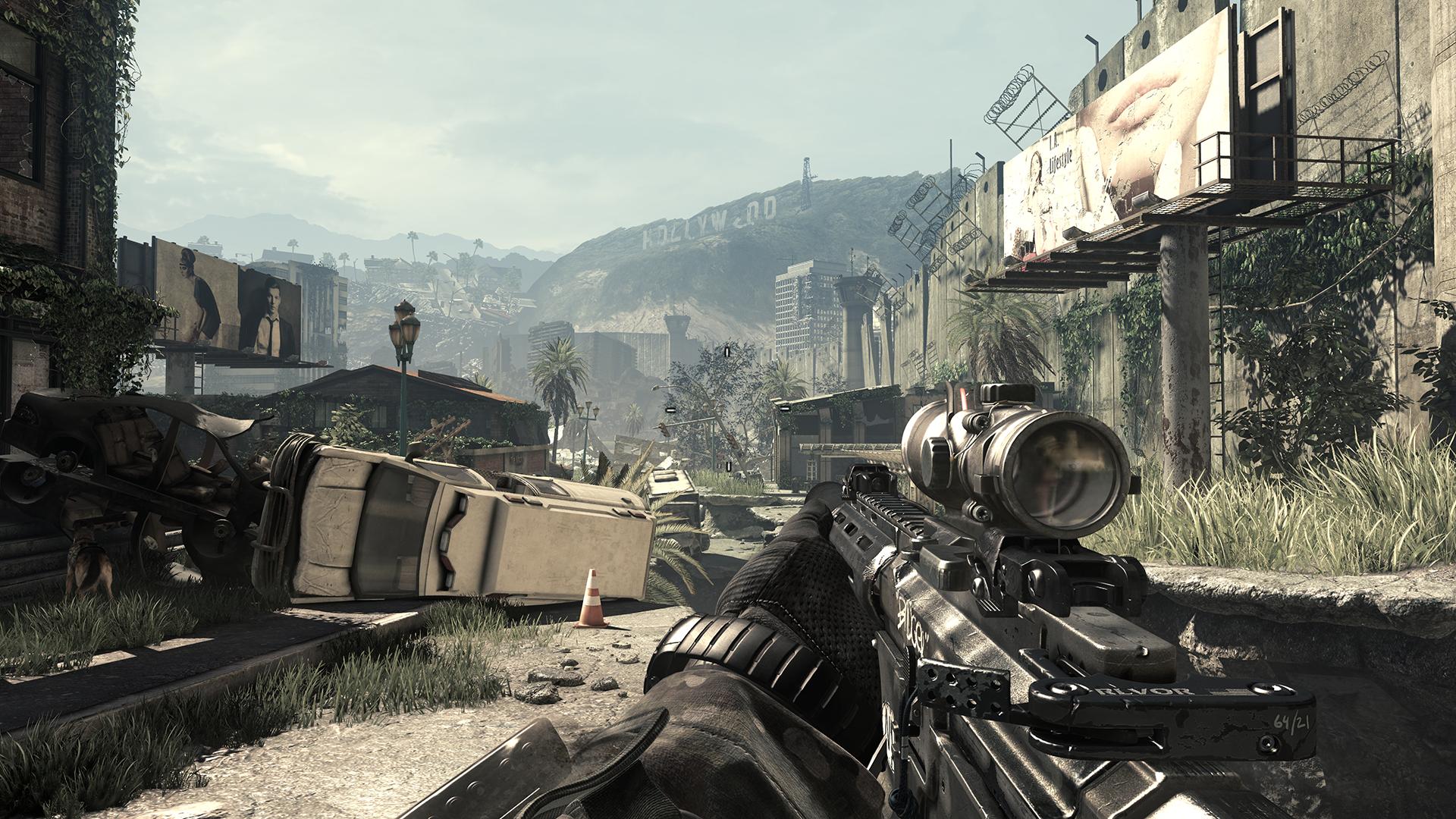 Nvidia vylepší Call of Duty: Ghosts 89611