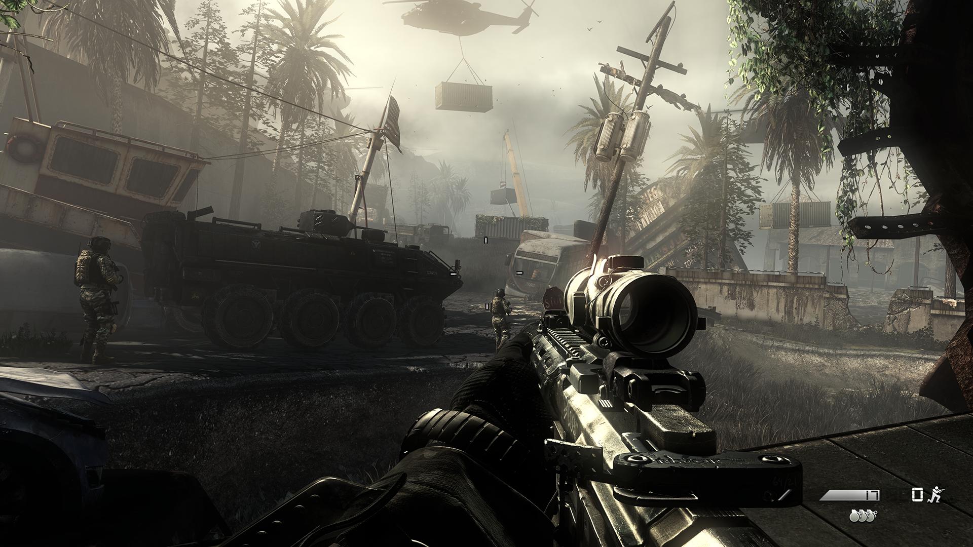 Nvidia vylepší Call of Duty: Ghosts 89612