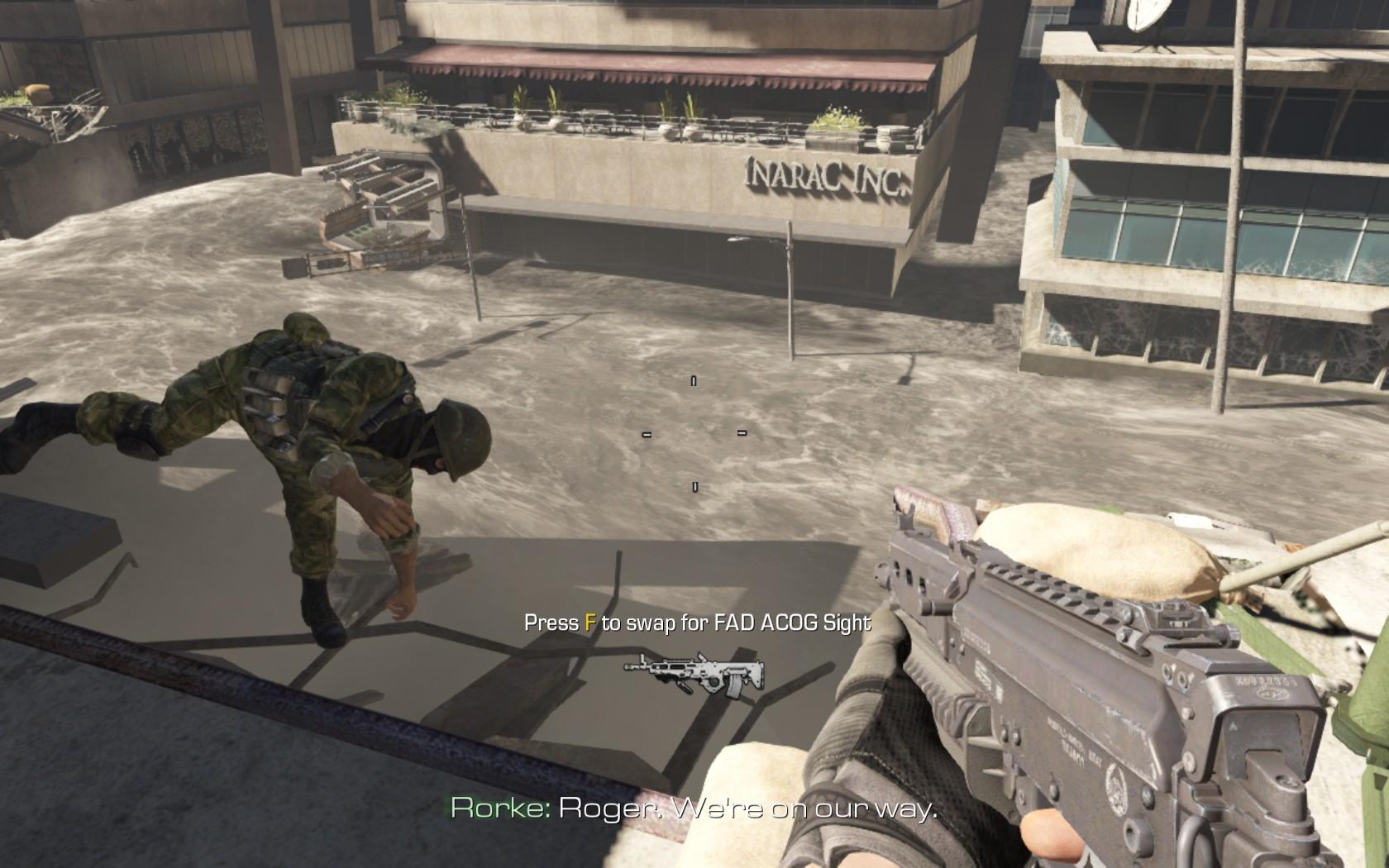 Nvidia vylepší Call of Duty: Ghosts 89622