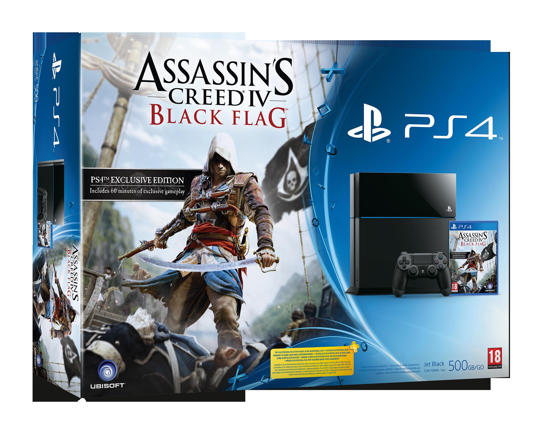 Představen PS4 bundle Assassin's Creed IV 89649